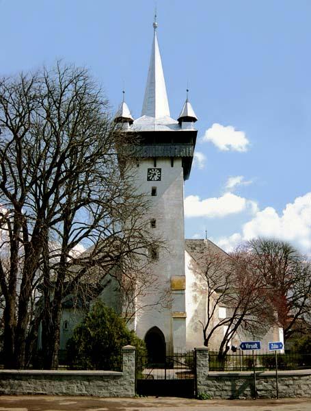 A krasznai református templom