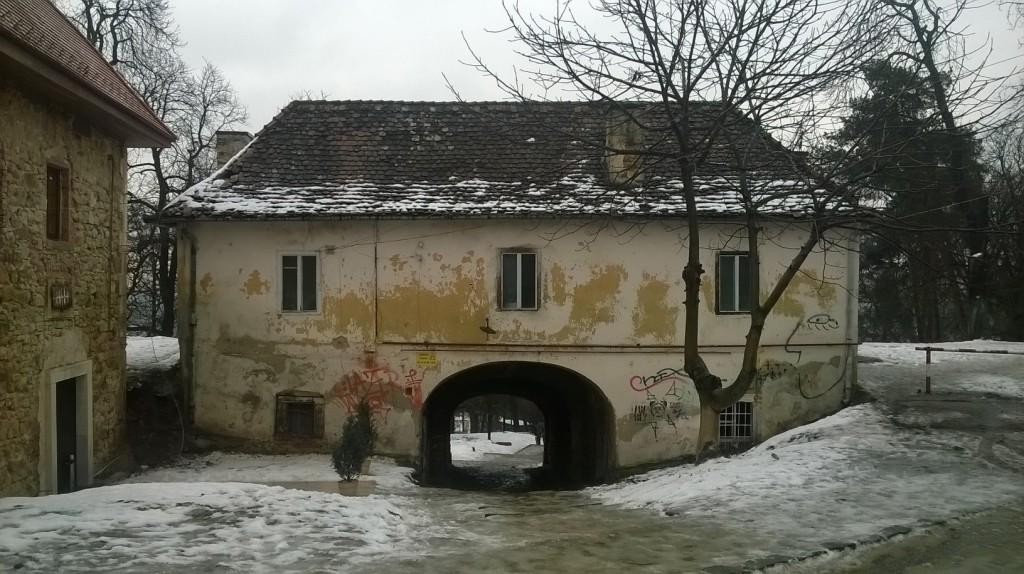A Fellegvár keleti kapuja