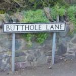 butthole lane
