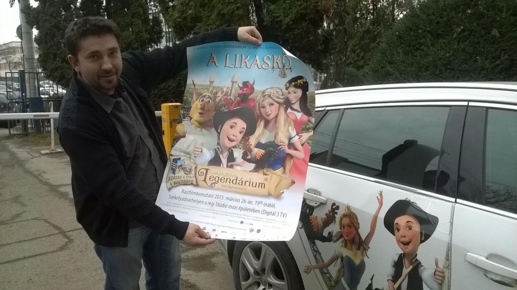 Fazakas Szabolcs és A Likaskő plakátja