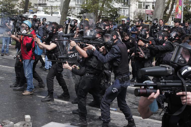 Fotó: Lefterisz Pitarakisz / MTI