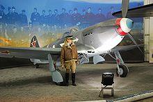 A Normandie-Niemen Jak-3 vadászgépe  Fotó: Wikipedia