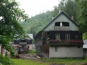 Az Írók háza Radnaborbereken. Fotó: Rácz Éva, 2015.