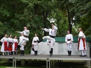 Népzenei színpad (Fotó: Rácz Éva, PMN, 2014)