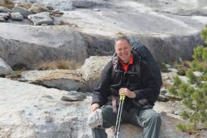 Kovács Sándor a Yosemite Nemzeti Parkban (2015) Fotó: Facebook