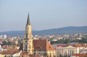 Szentmihaly-templom-Kolozsvar-latkep-Fellegvar