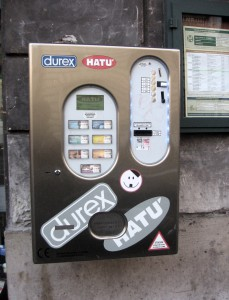 Condom_vendor ovszer automata