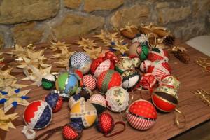 kézműves karácsonyi díszek