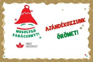 Idén is: Mosolygó karácsonyt! (Kép forrása: rmdsz.ro)