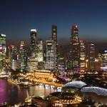 Szingapúr felhőkarcolói