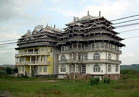 Cigánypaloták Bánffyhunyad határában fotó: Wikipédia