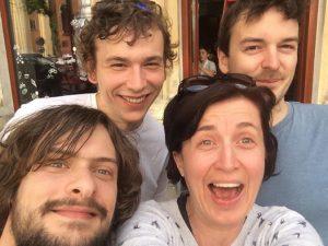 Molnar Edina Quartet