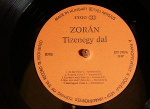 Zoran X. LP