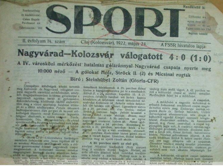 Sport. az FSSR lapja 1922