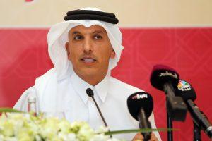 Ali Saref al-Emadi, Katar pénzügyminisztere Forrás: AFP/Karim Jaafar