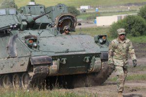 amerikai páncélos Nagysinken - fotó: Army.mil